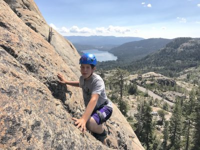 Full Day Kids Rock Climbing Camp