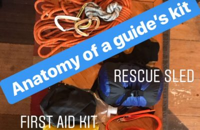 Anatomy of a Guide's Kit
