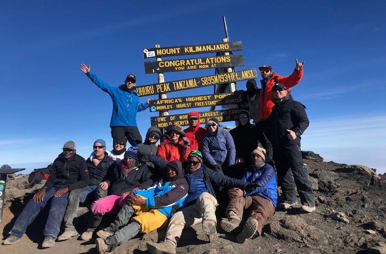 Summit of Kilimanjaro with Alpenglow Expeditions