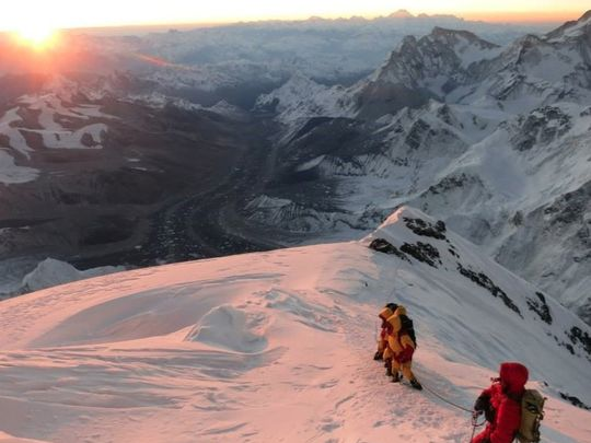 USA Today – Six-time climber: Everest is a 'natural beast'