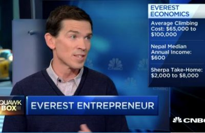 CNBC – Dangers and Economics of Mount Everest