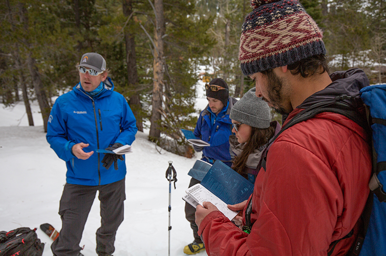 a510300d Avalanche Education- AIARE 1 Avalanche course, Lake Tahoe, CA ...