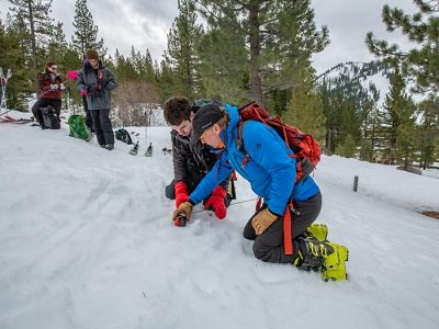 Teen AIARE 1 Avalanche Course
