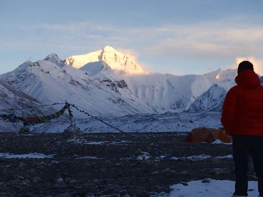 USA Today – Everest without oxygen: Climber seeks to join elite club