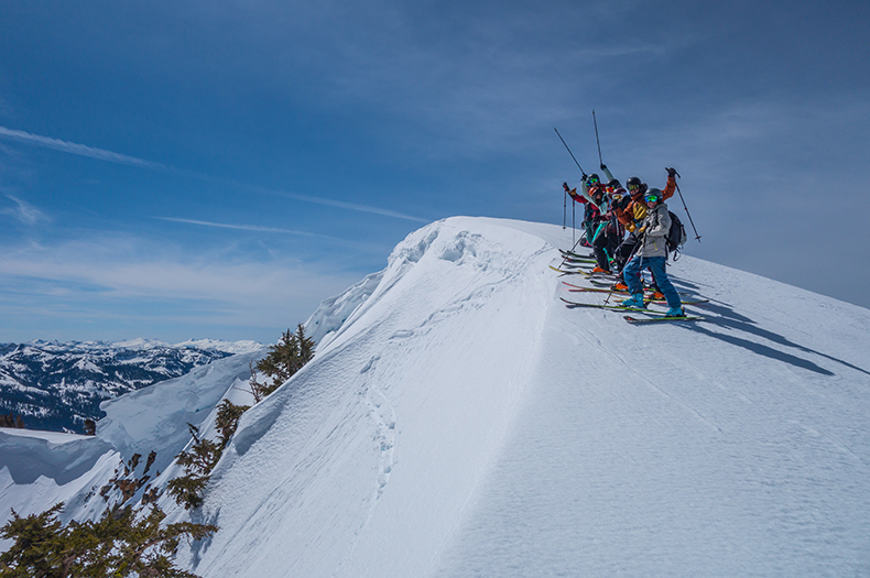 Women's Intro to Backcountry Skiing
