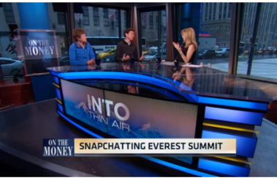 CNBC: How to climb Mount Everest with just guts and Snapchat