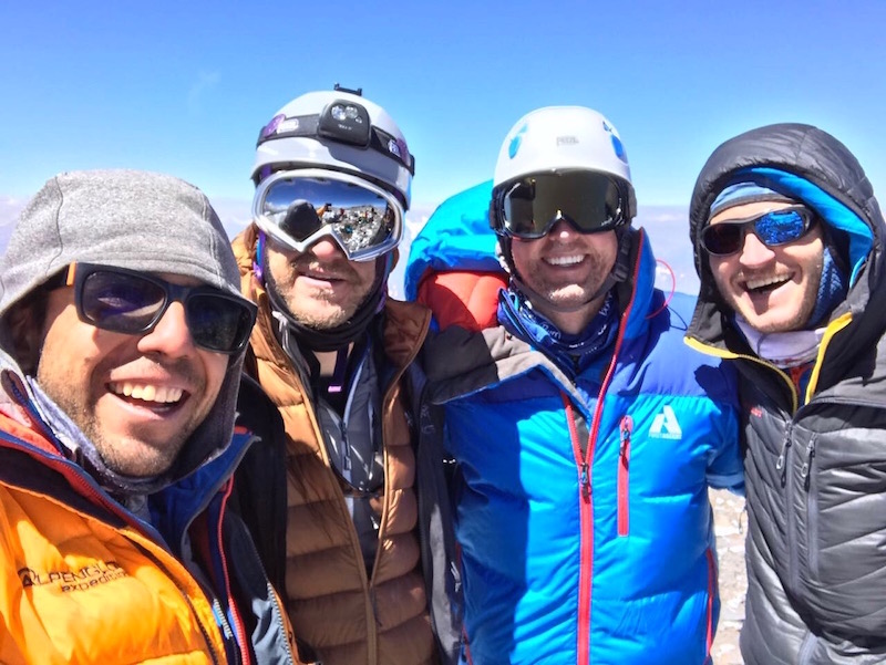 Aconcagua summit day
