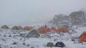C3, high camp on Aconcagua