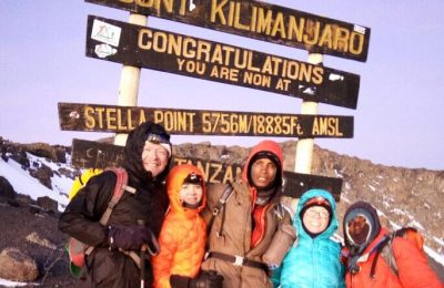 Successful Summit on Kilimanjaro