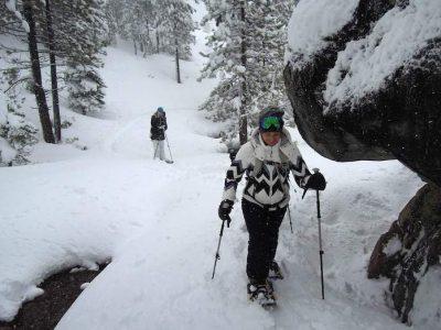 Shirley Canyon Snowshoe Tours