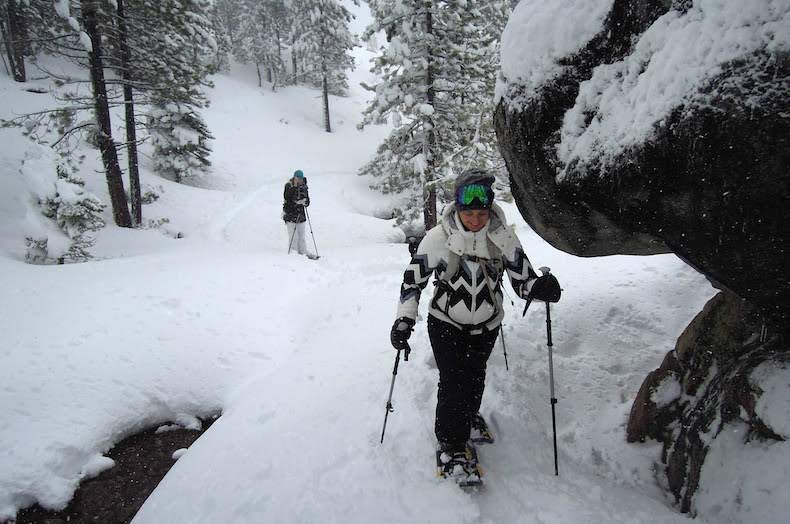 Shirley Canyon Snowshoe Tours