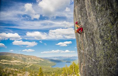 Rock Climbing on Donner Summit