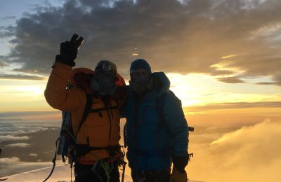Sunrise Summit on Cotopaxi