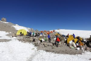 Camp 3 on Aconcagua