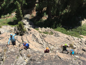 Rock Climbing guides in Truckee and Lake Tahoe
