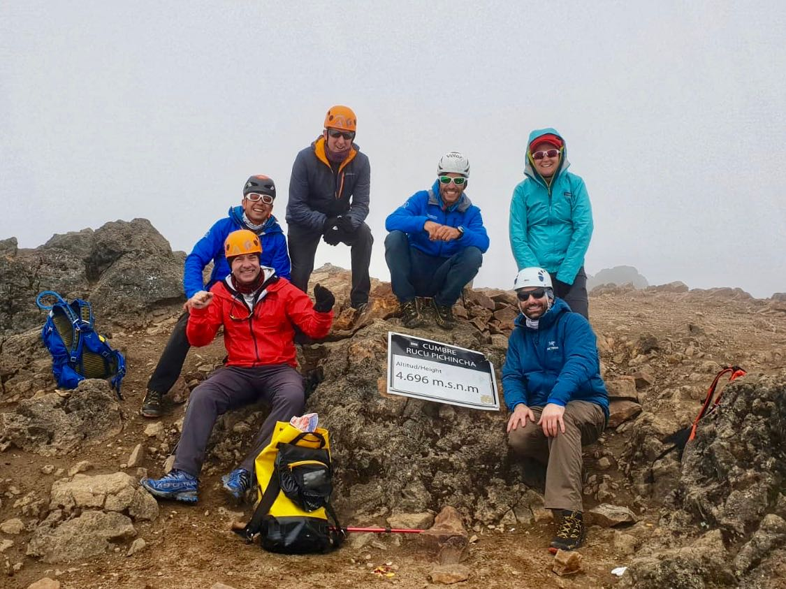Summit of Rucu Pinchincha