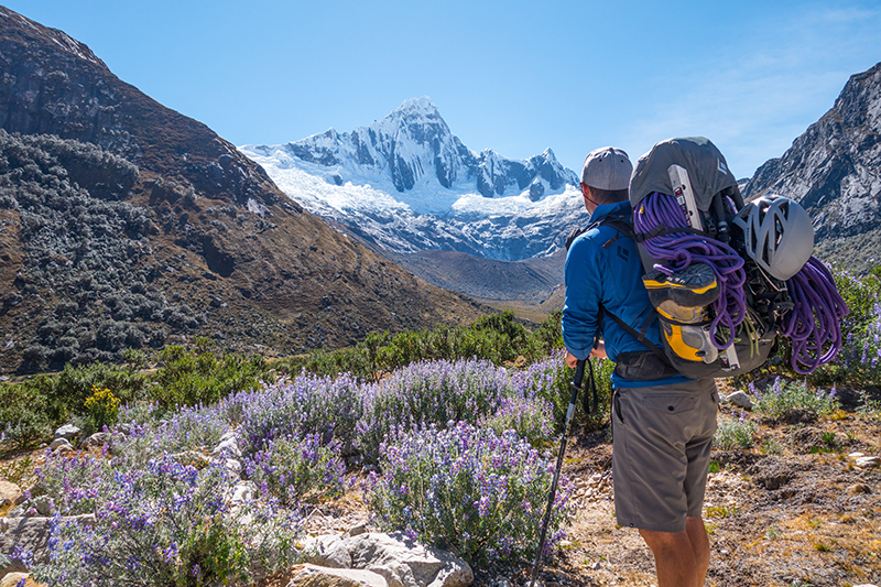 Climbing in the Cordillera Blanca with Logan Talbott