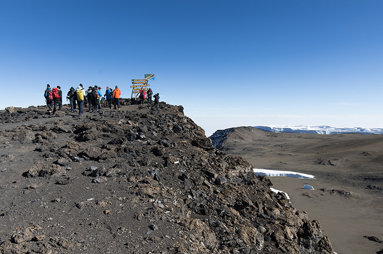 Climb Kilimanjaro with Guide Will Sperry