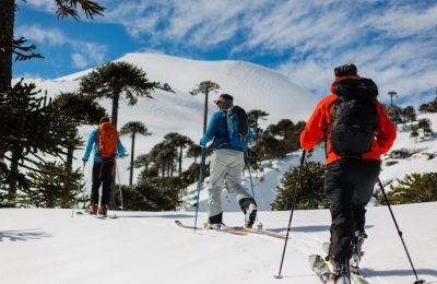 Backcountry Skiing in Chile with Sydney Duncan