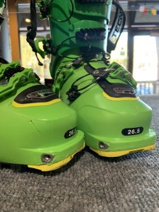 Backcountry Ski touring Boots with Pin-hole molding